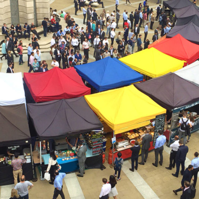 Paternoster Square Food Market